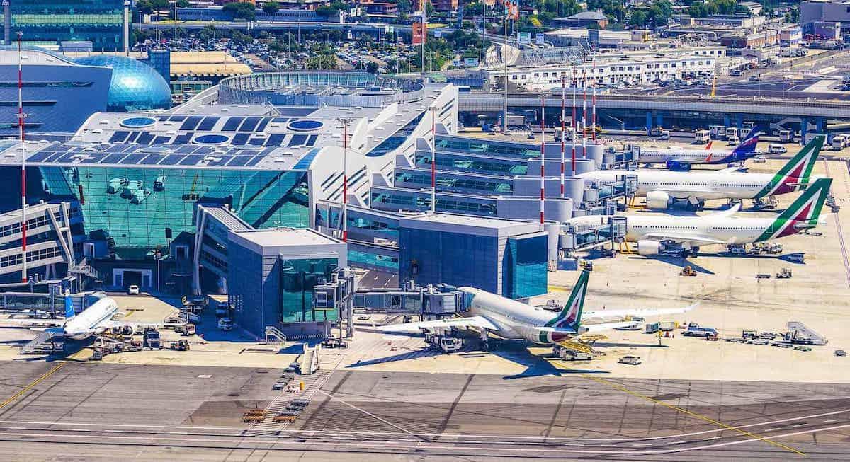 Rome Airport Fiumicino FCO