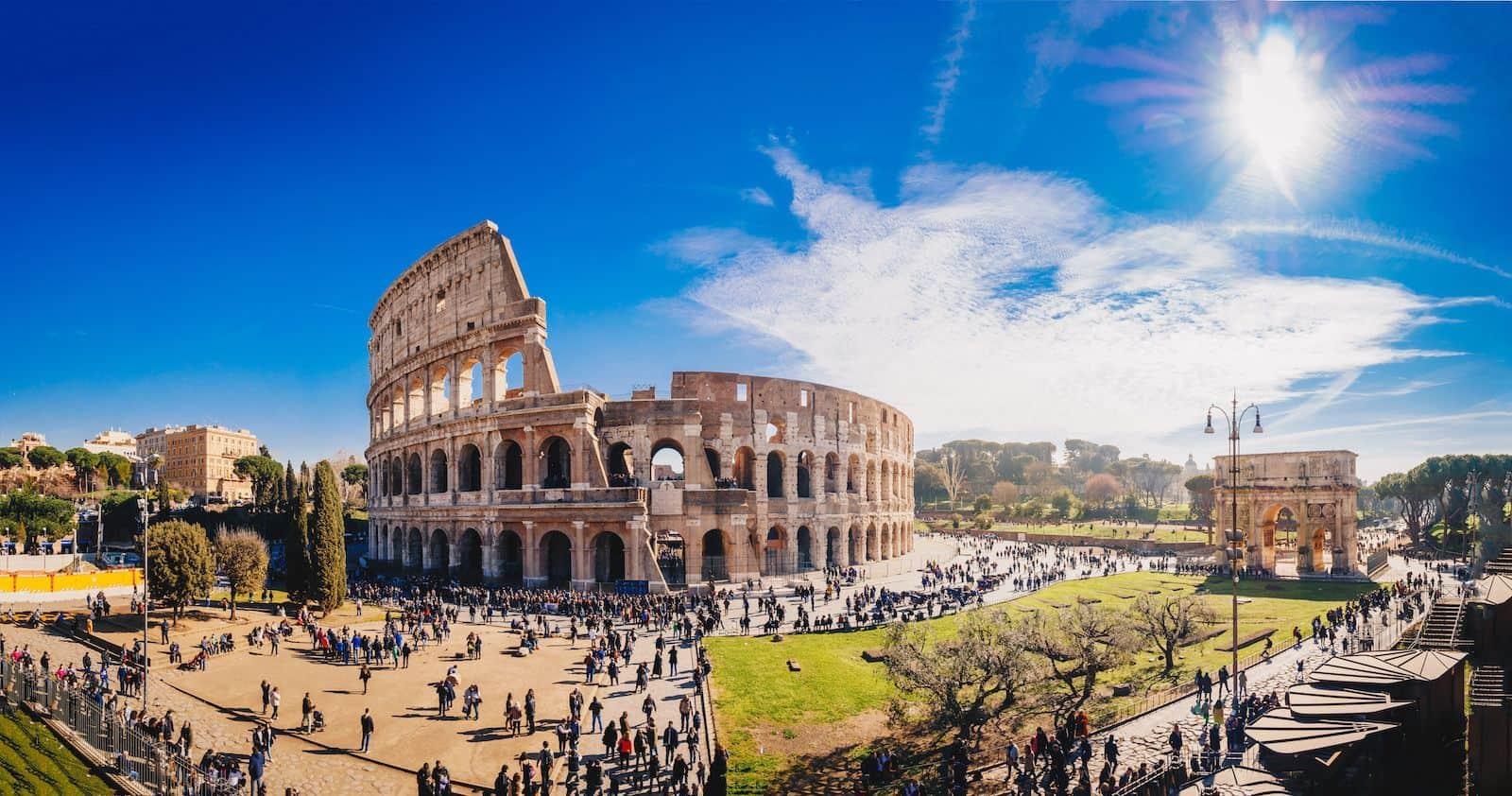 Colosseum or Coliseum, also known as the Flavian Amphitheatre