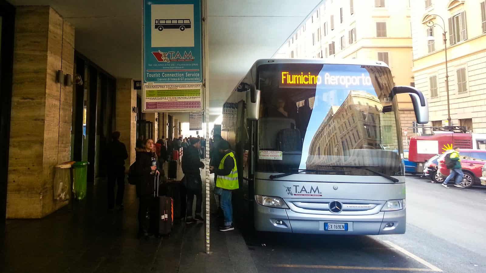 T.A.M bus