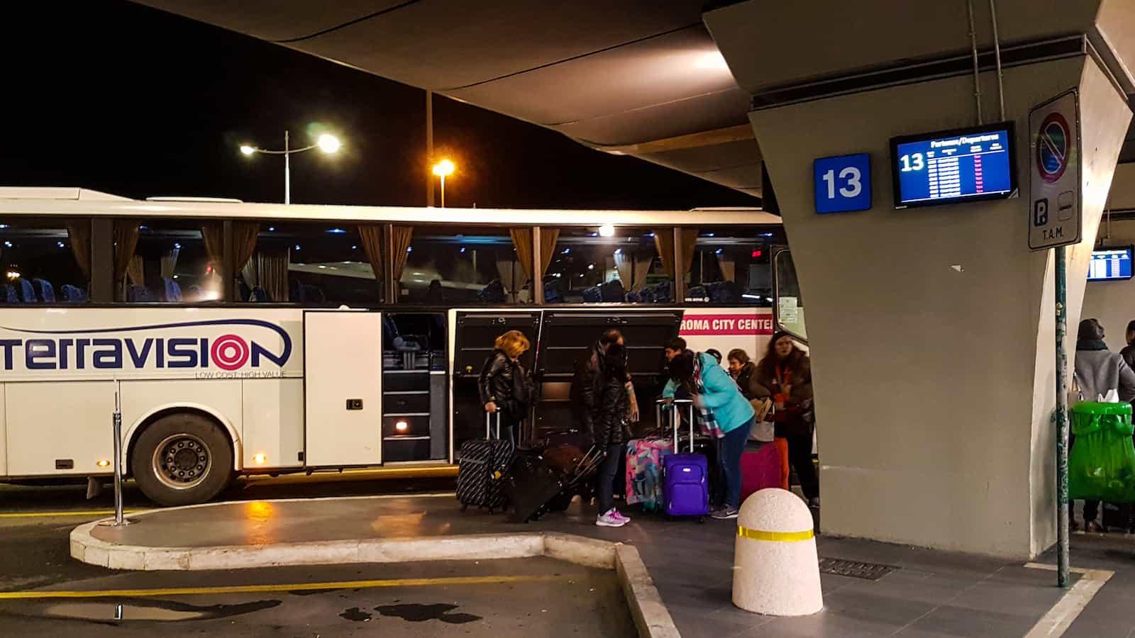 Terravision Rome Airport