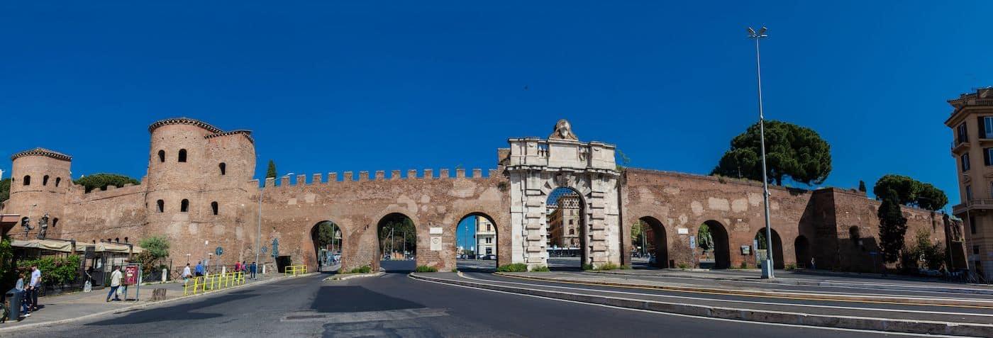 Aurelian Walls San Giovanni Gate