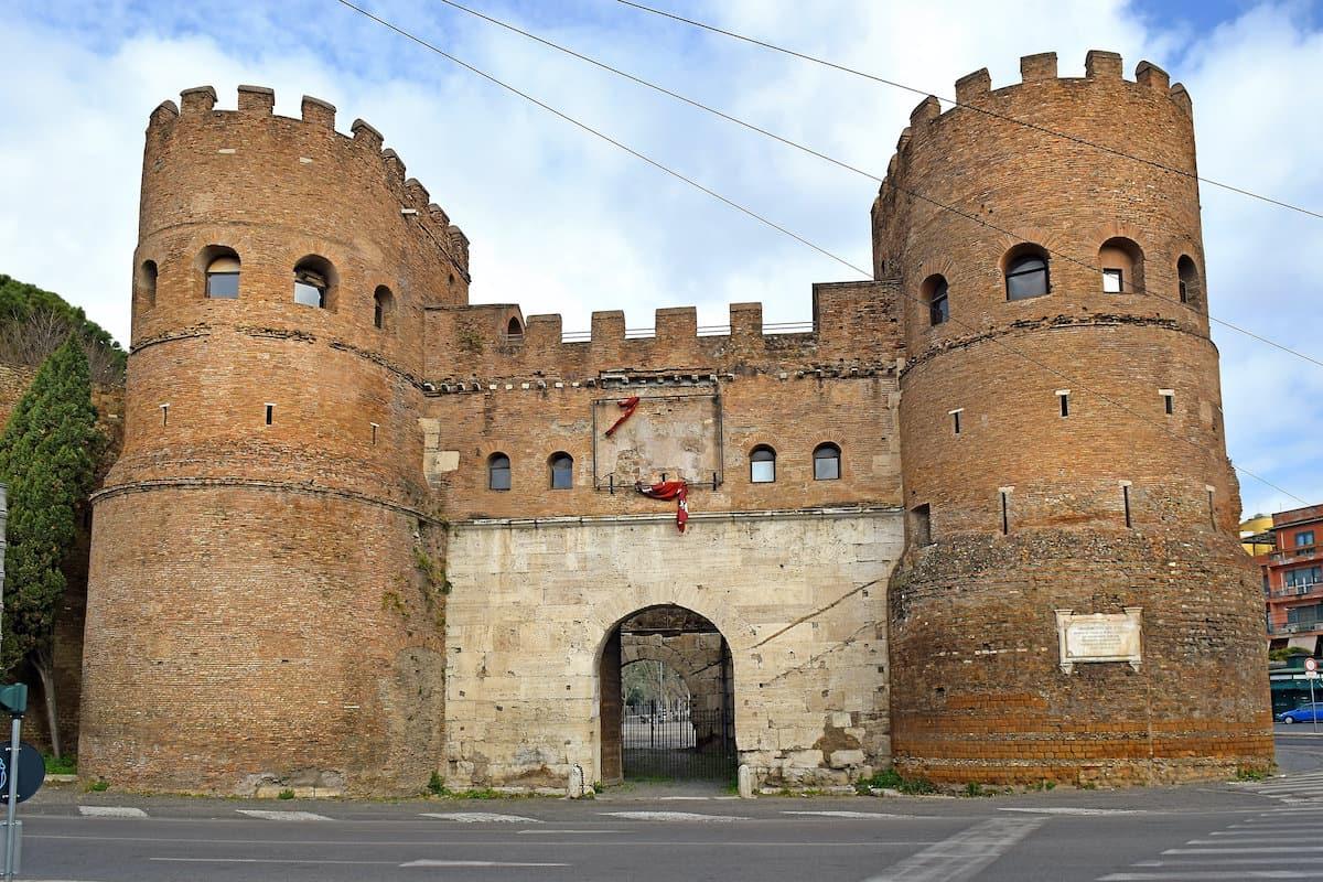 Aurelian Walls San Paolo Gate