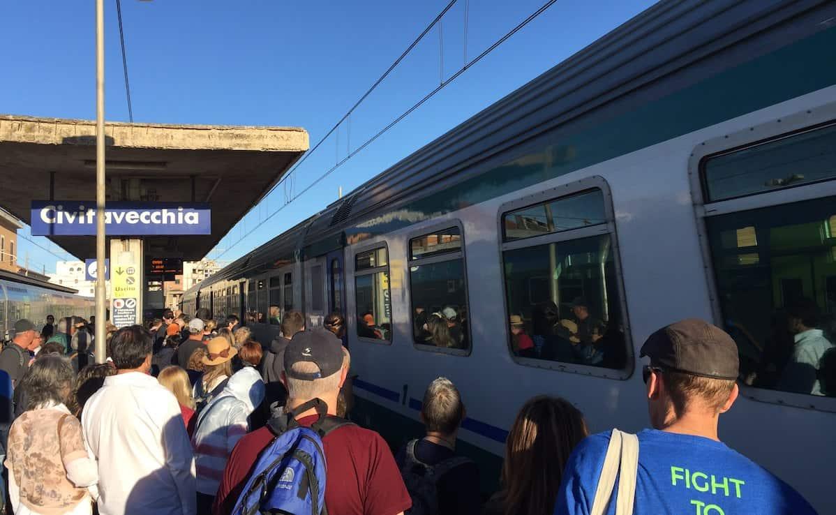 Civitavecchia Train Station