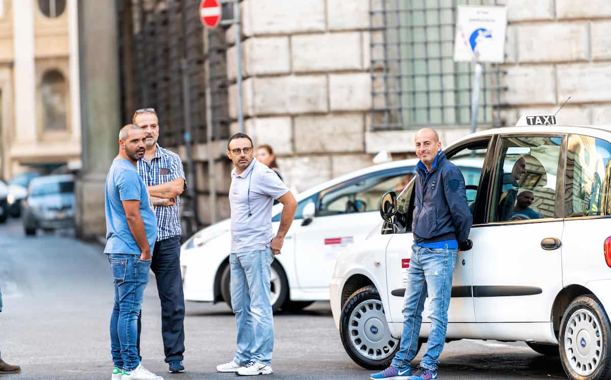 Rome Airprot Taxi Drivers